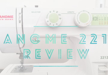 Janome 2212 Review