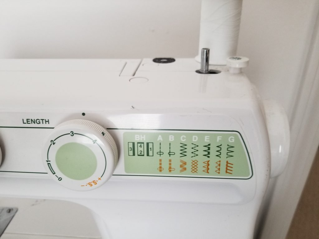 Stitches on the Janome 2212