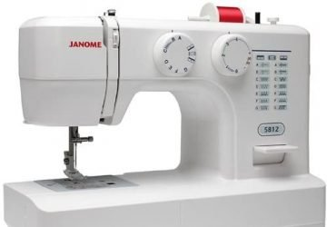 janome 5812 sewing machine review featured image